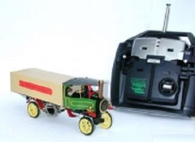 Ministeam Steam Lorry with Remote Control